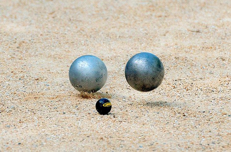 Kit pour terrains de boules