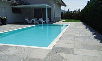 Carrelage antidérapant piscine