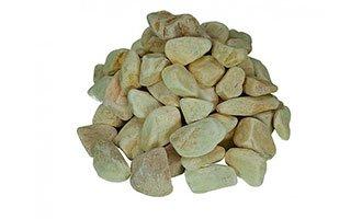 Pierre concept galet boulder jaune