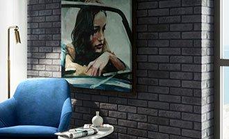 Parement salon moderne