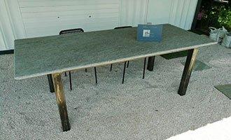table en pierre