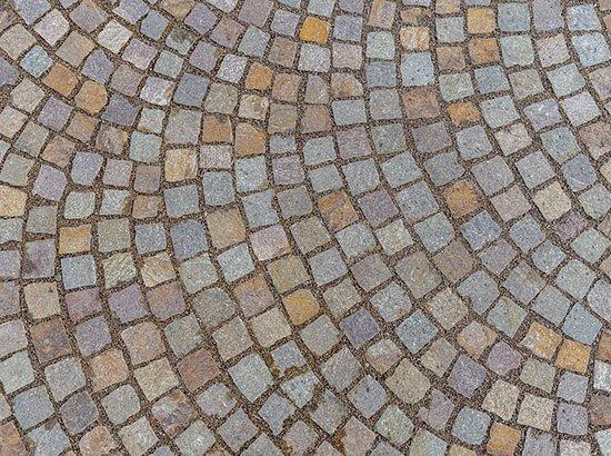 Revêtement pour sol extérieur en pierre naturelle
