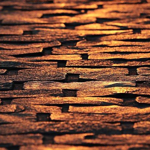 Votre sol extérieur en pavage de pierres naturelles.