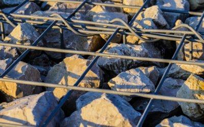 Mur extérieur en gabions: les solutions Pierre Concept